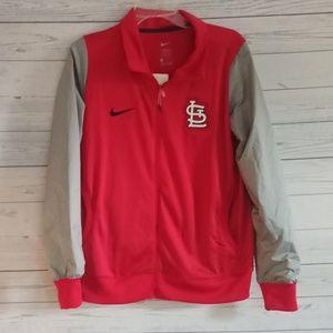 Nike St. Louis Cardinals jacket size large